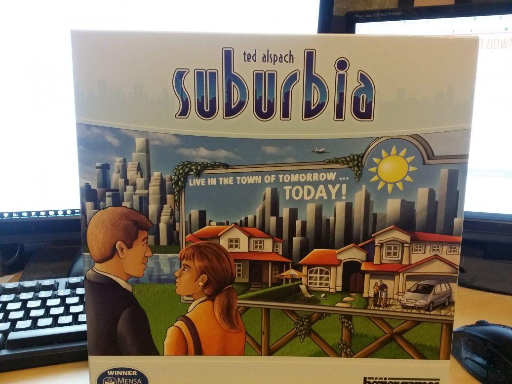Suburbia box art