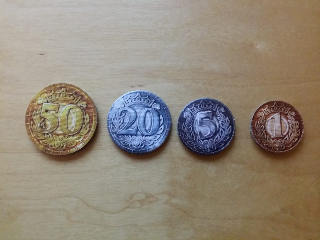 Coins in Sheriff of Nottingham