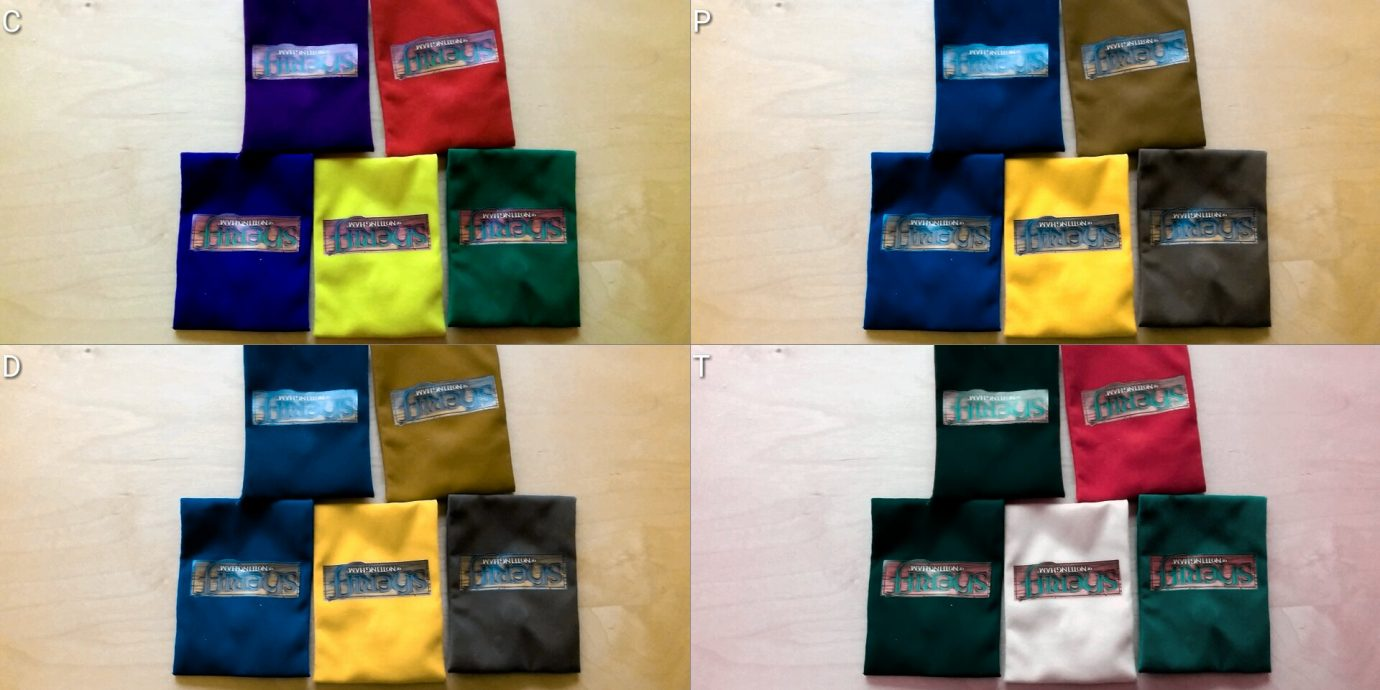 Colour blind bags