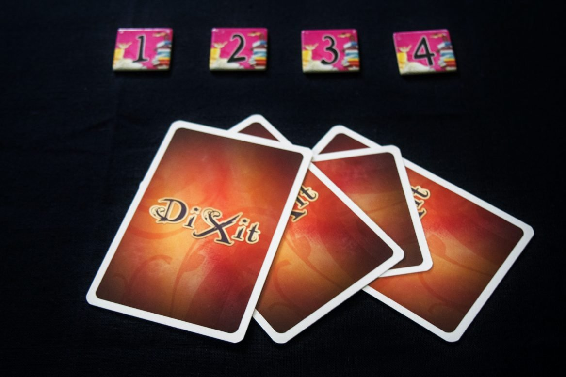 Cards to be shuffled