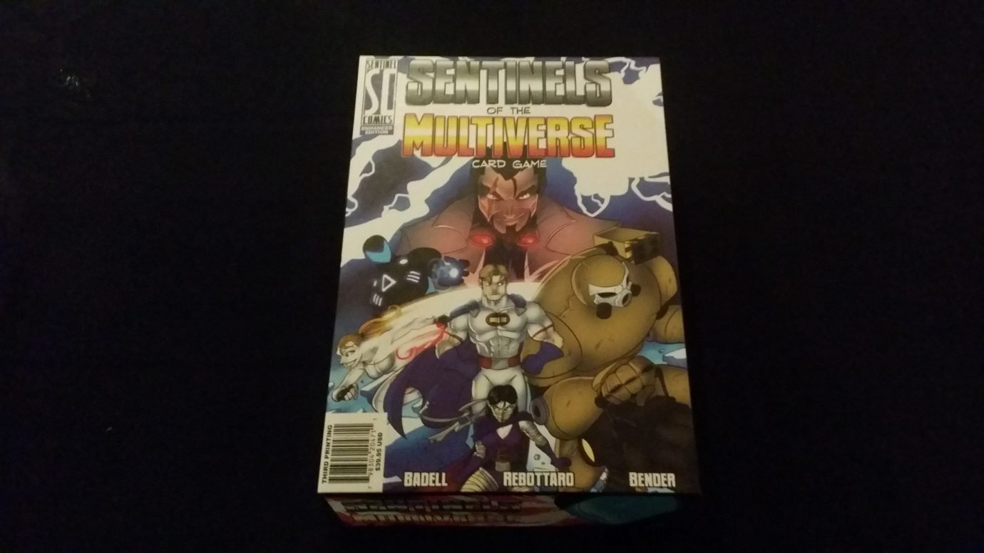 The Sentinels of the Multiverse box