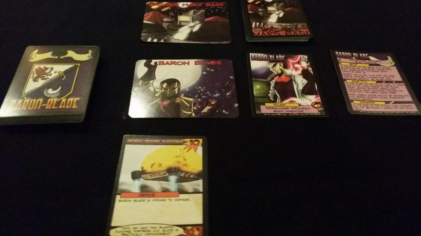 Baron Blade Cards