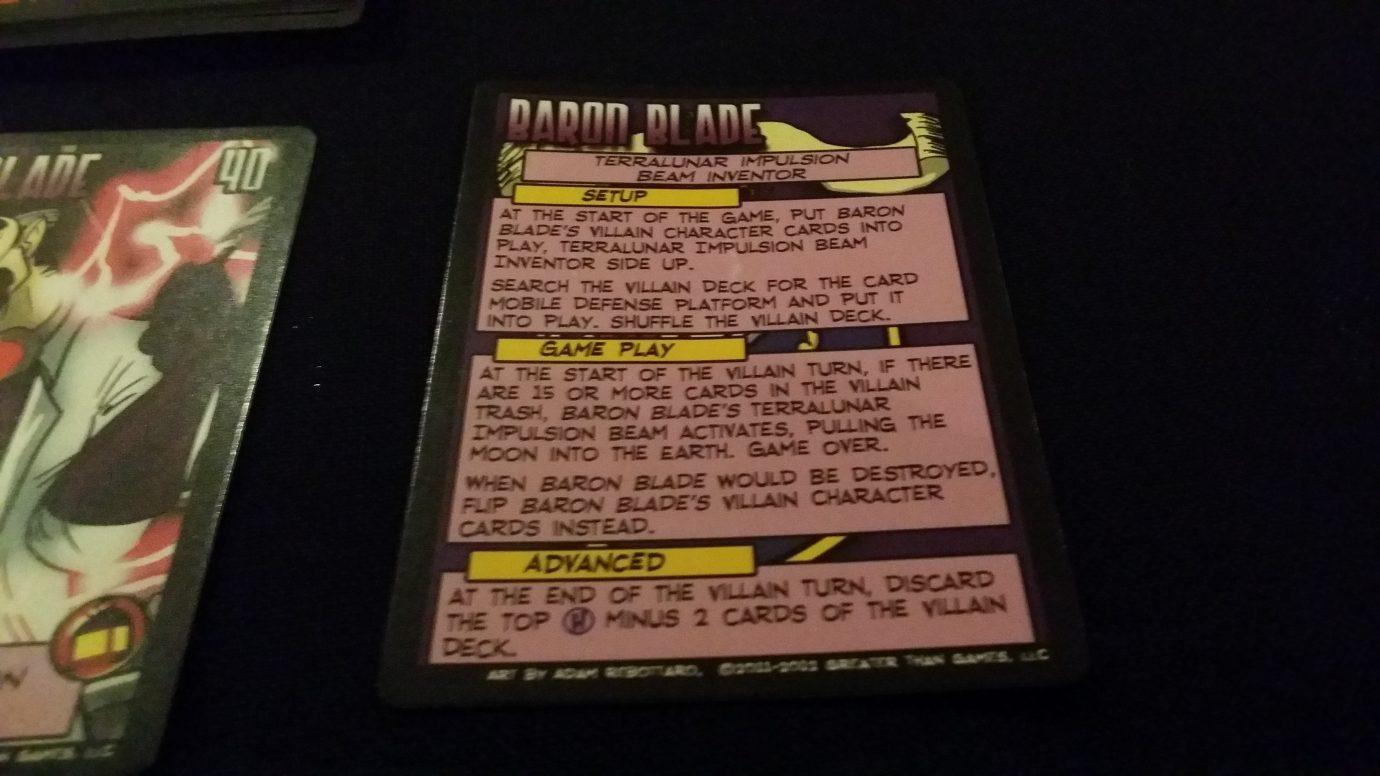 Blade Guidance Card
