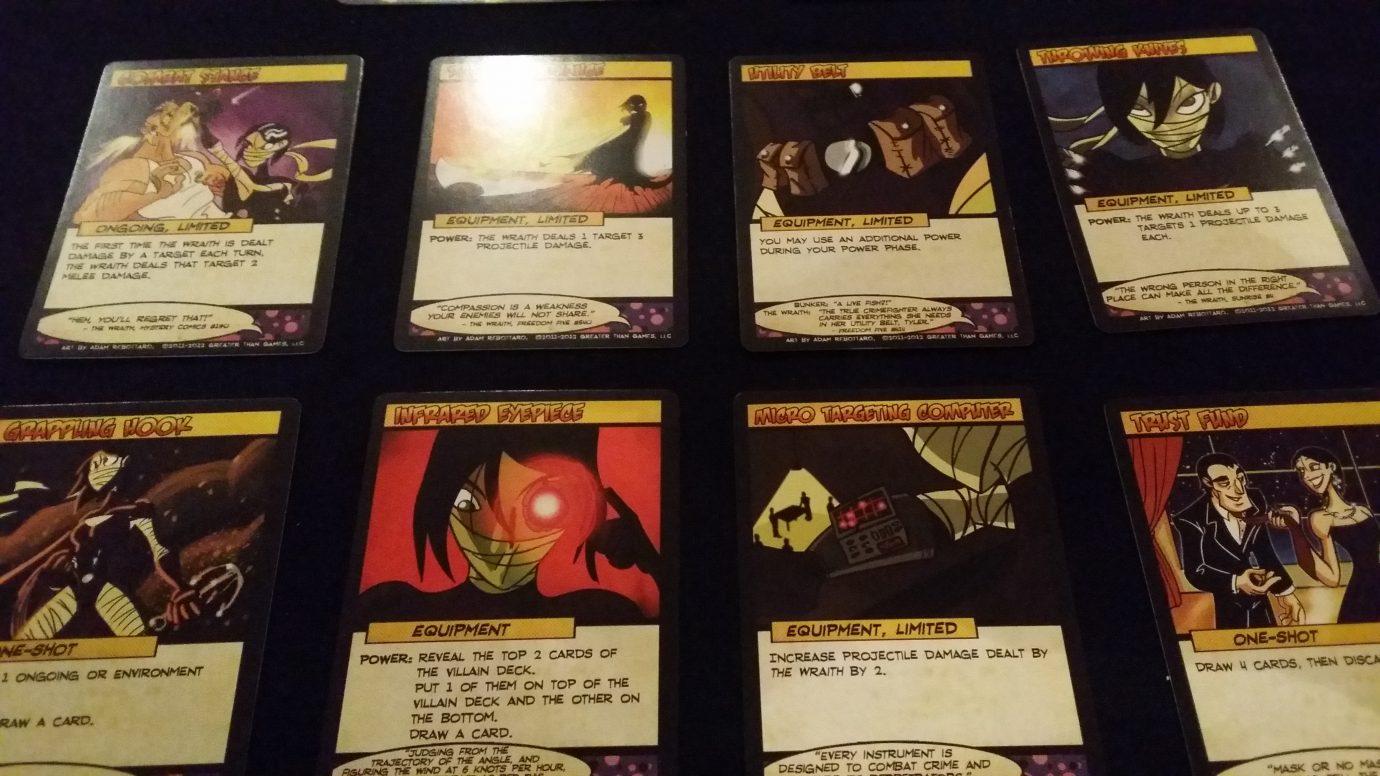Wraith deck