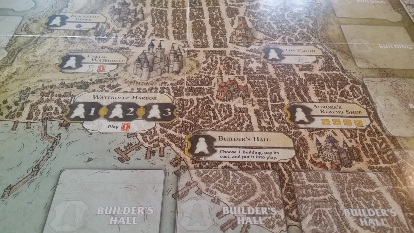 Part of the Waterdeep map