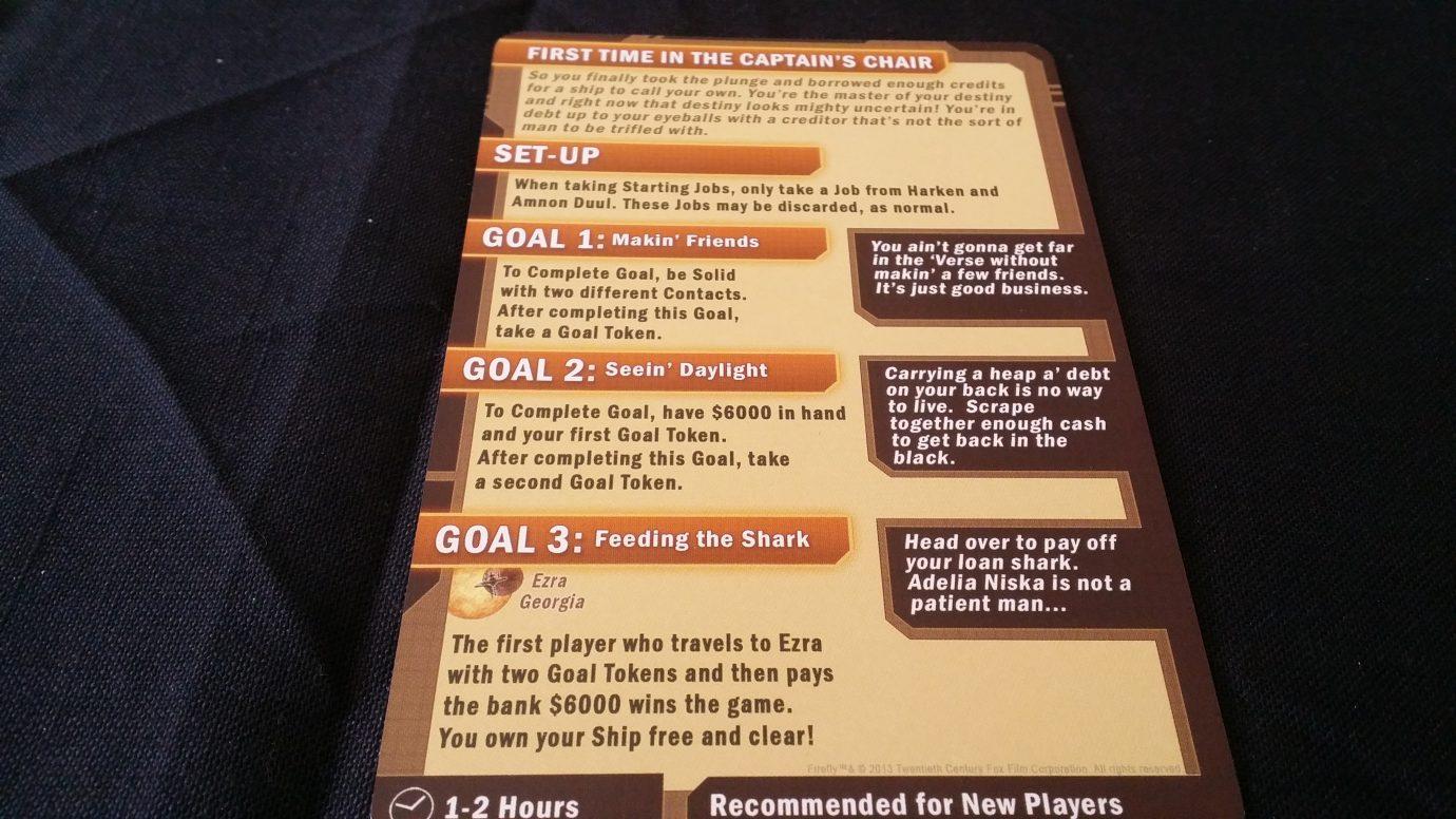 Scenario goals