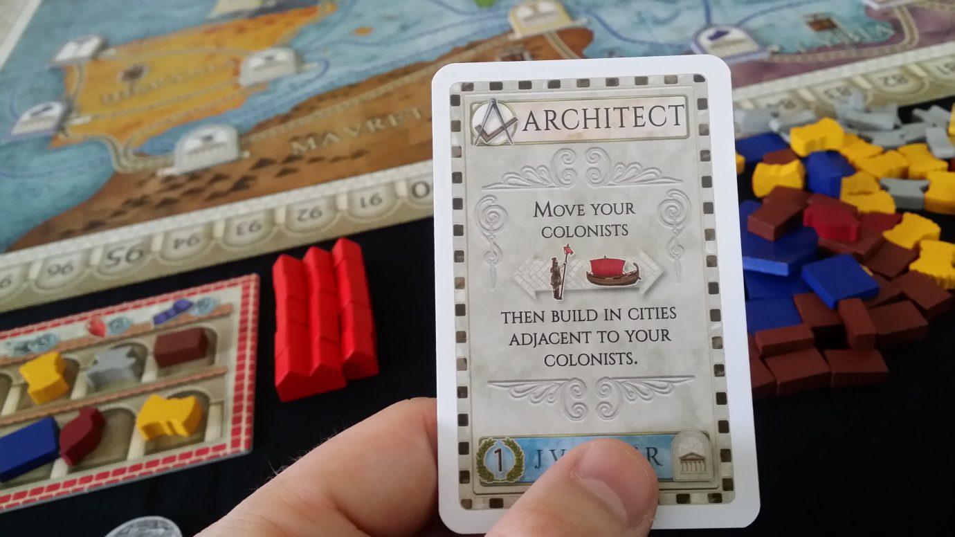 Architect card