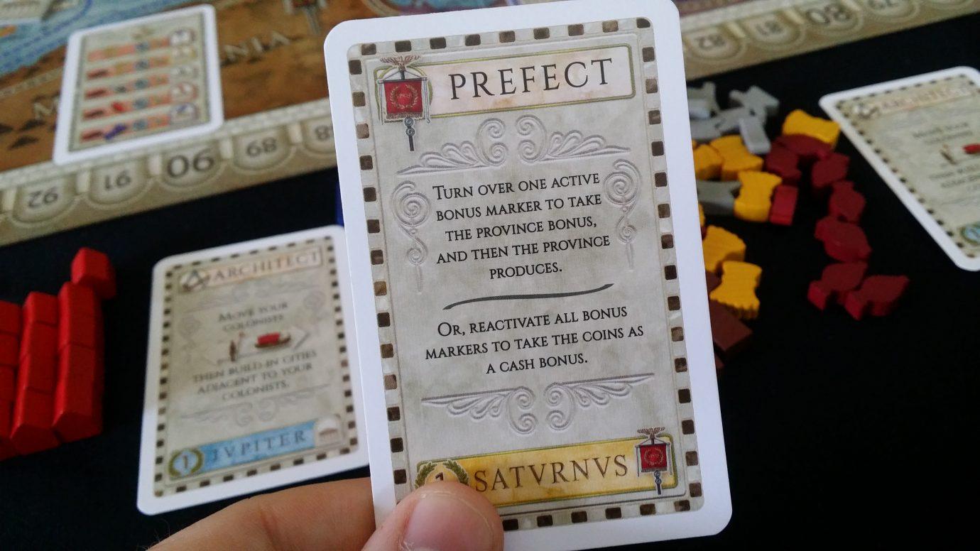 Prefect card