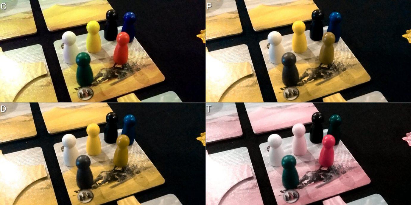 Colour blind pawns