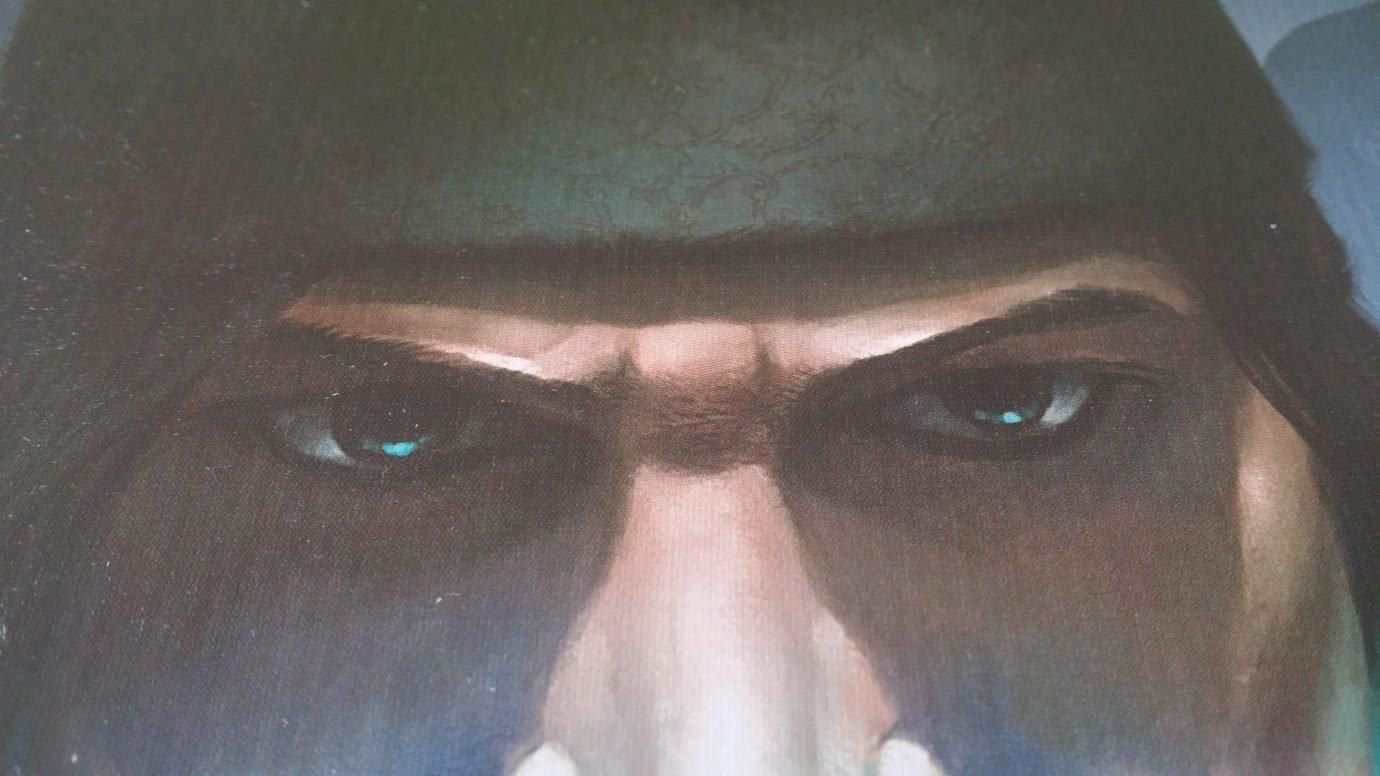 Close up on eyes