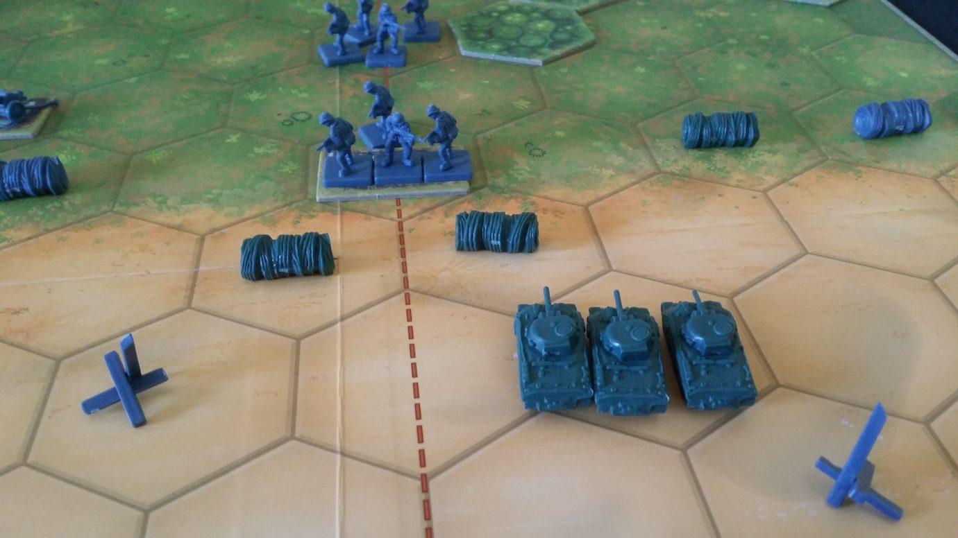 Bunker combat