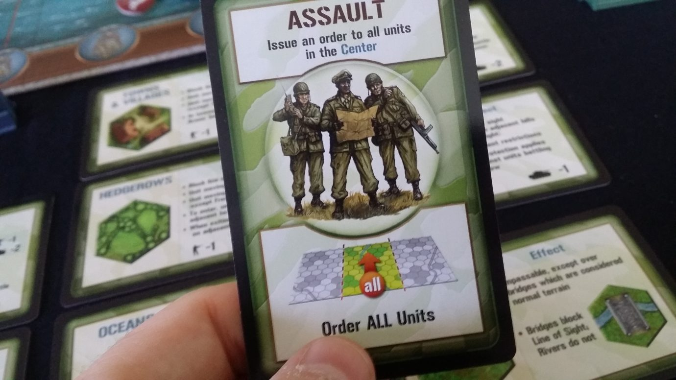 Assault card