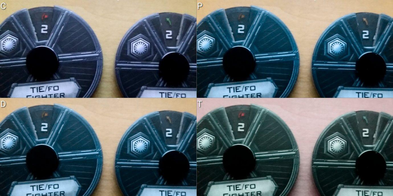 Colour blind dials