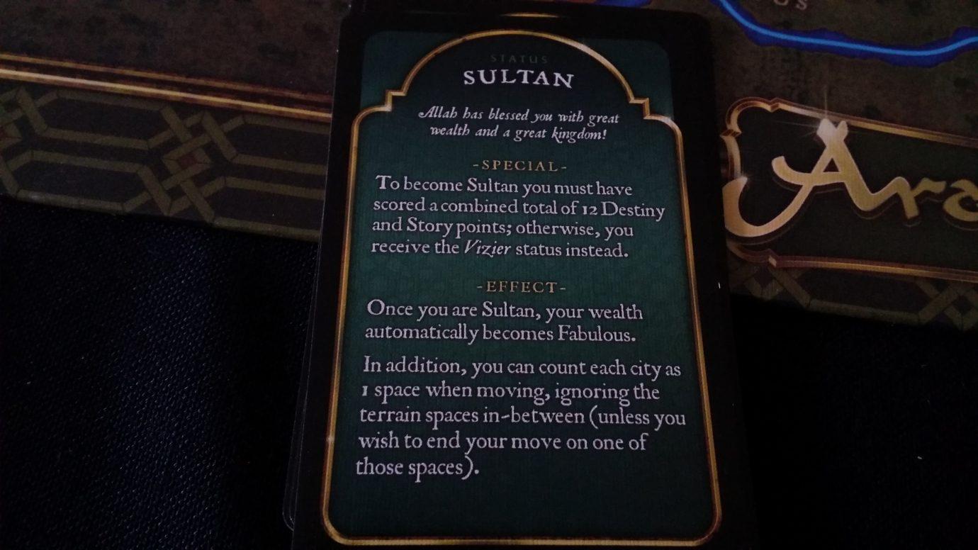 Sultan status