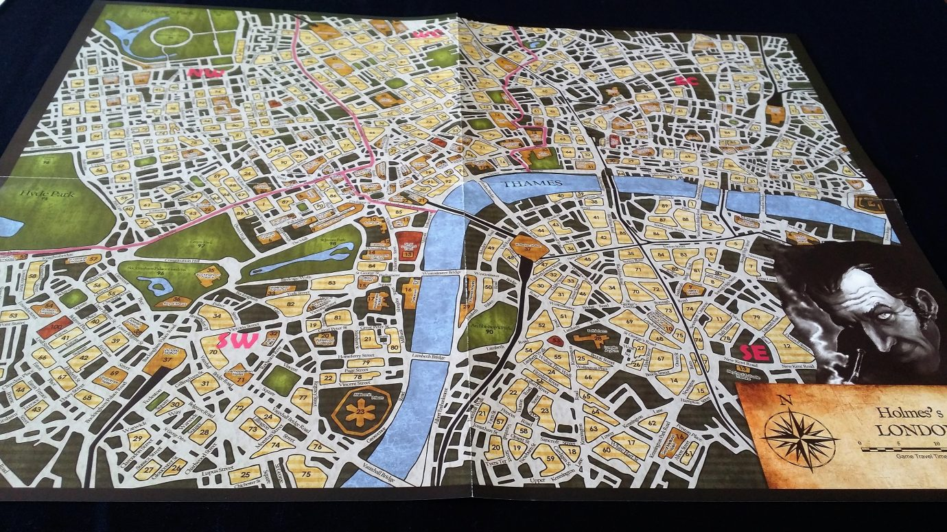 sherlock holmes consulting detective map pdf