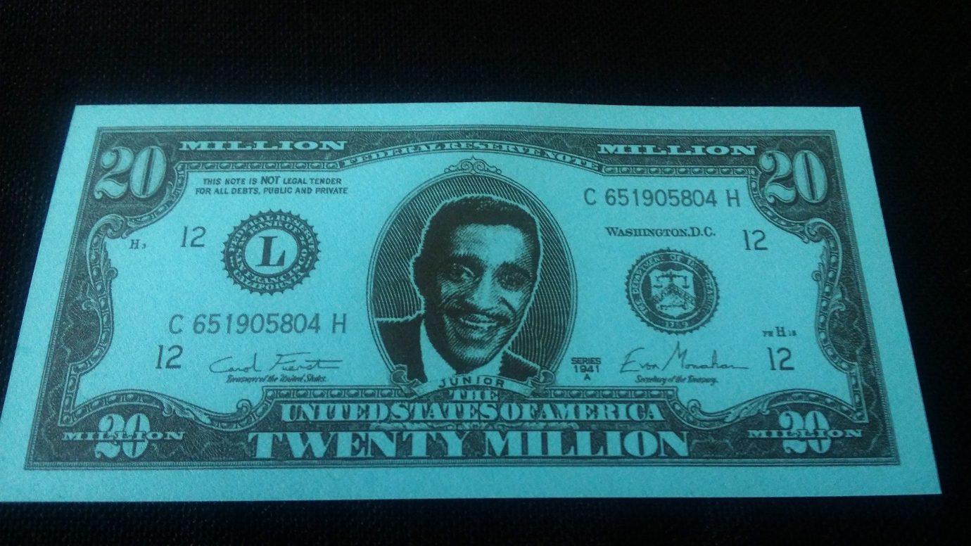 Twenty million dollars