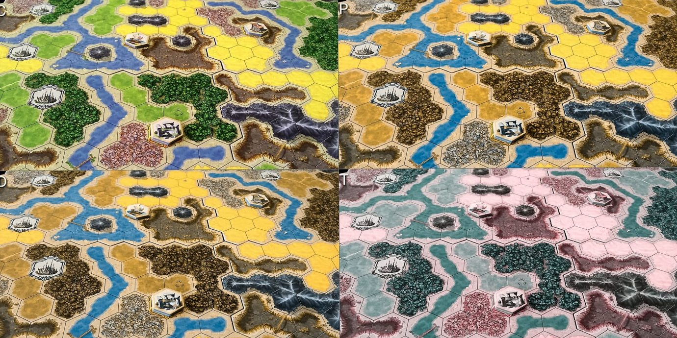Colour blind map