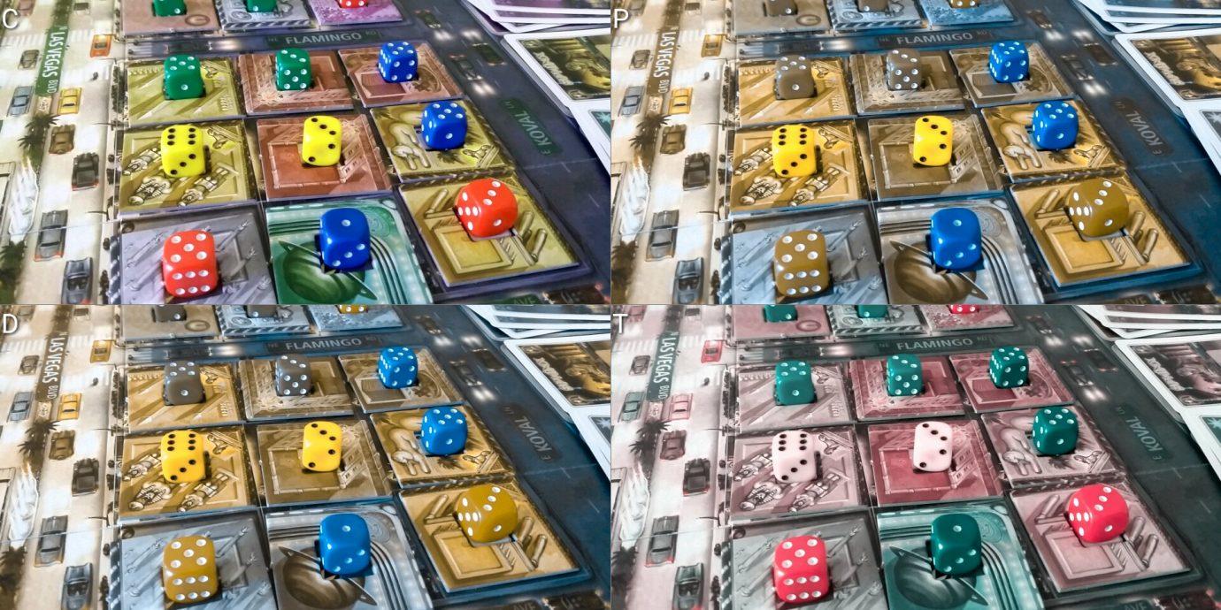 Colour blind tiles