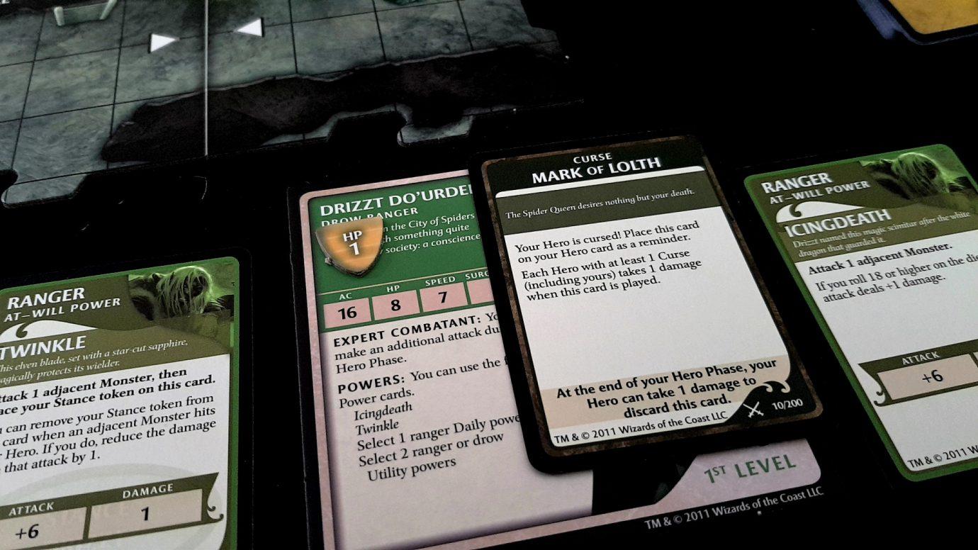 Curse of Lolth card