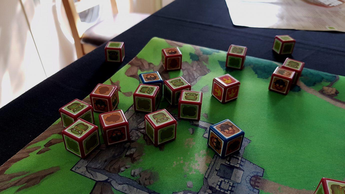 Intermingled cubes
