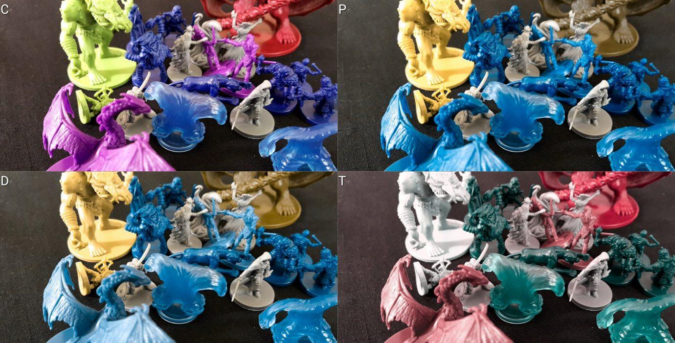 Colour blind minis