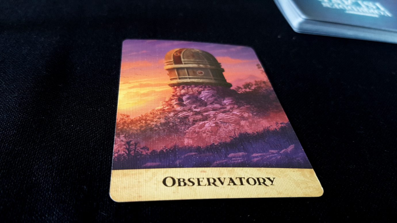 Observatory card