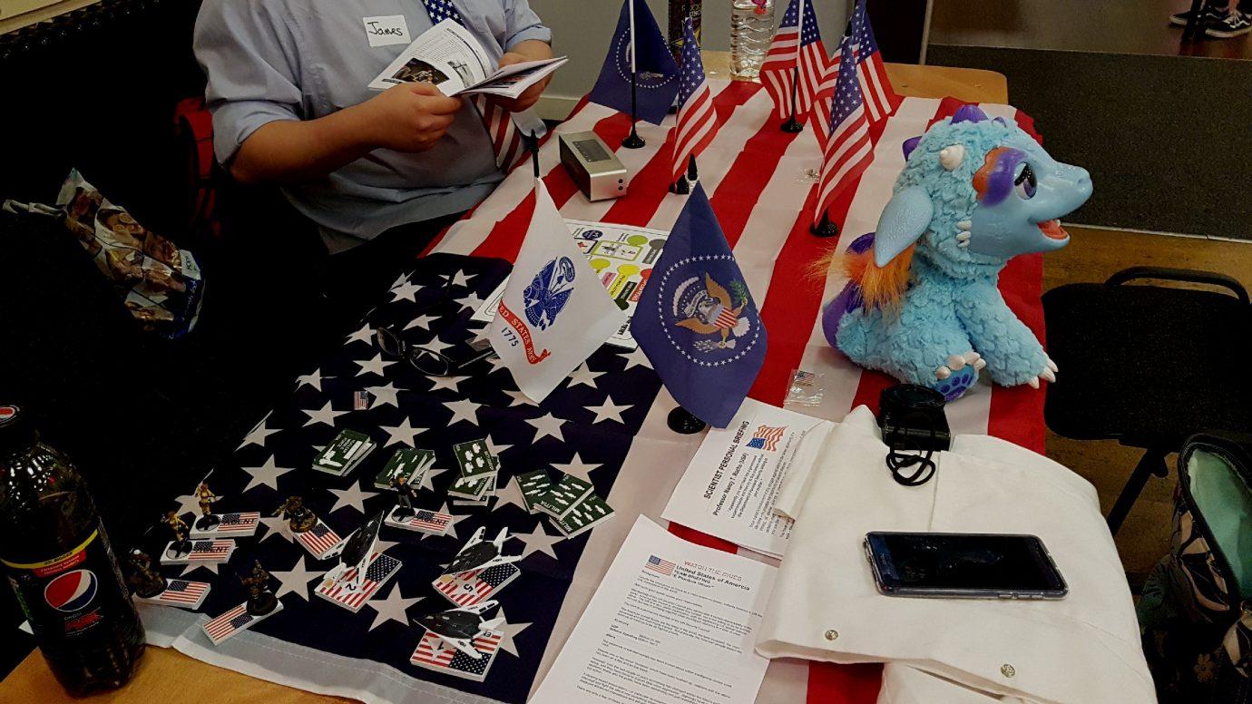 The USA table