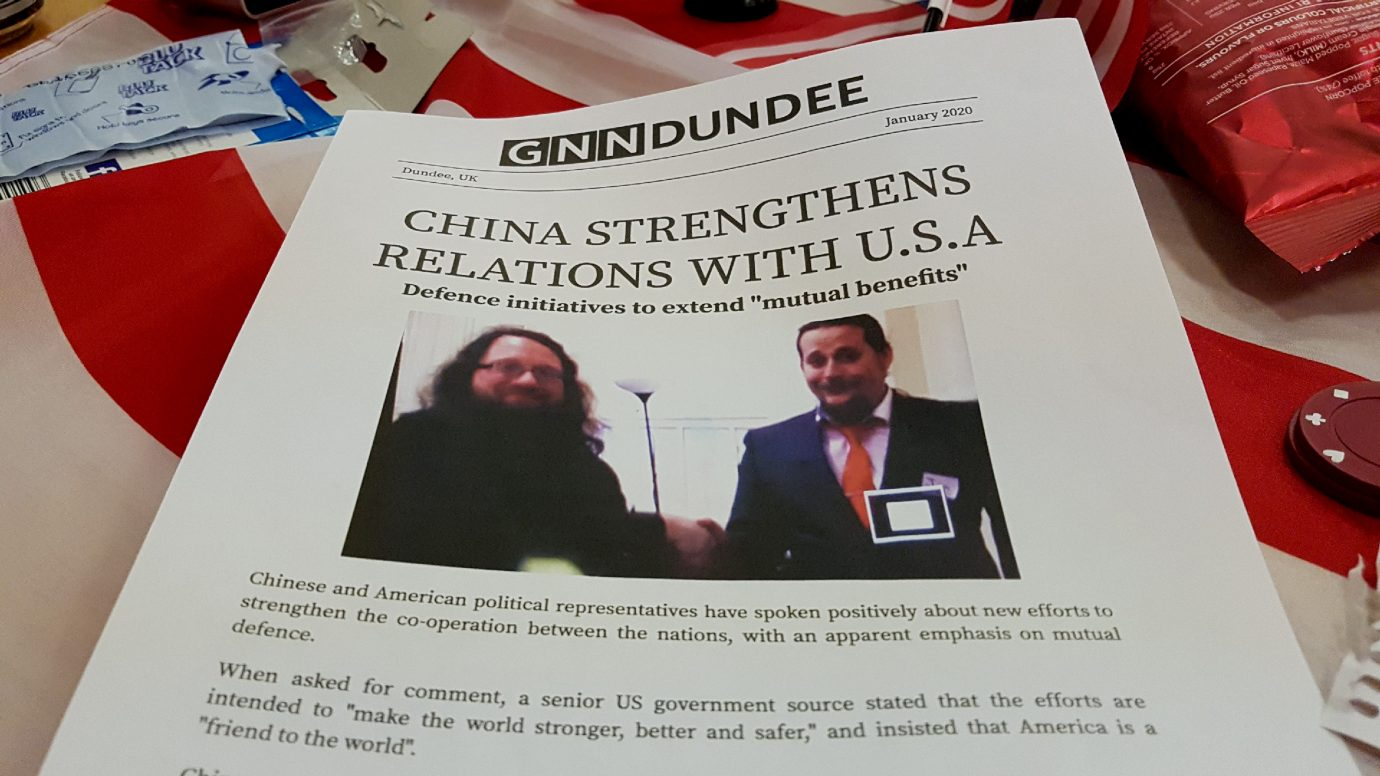 China strengthens relations with the US