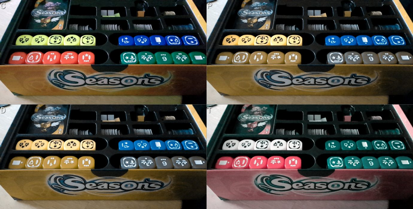 The colour blind box insert