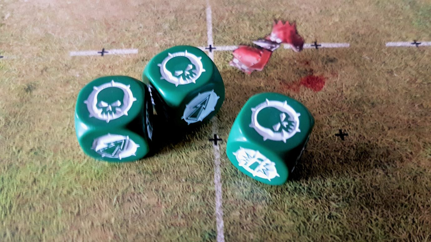 Three attacker down symbols