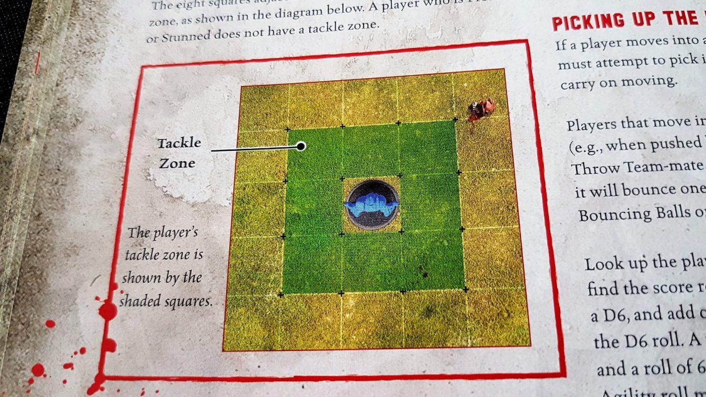 Tackle zones