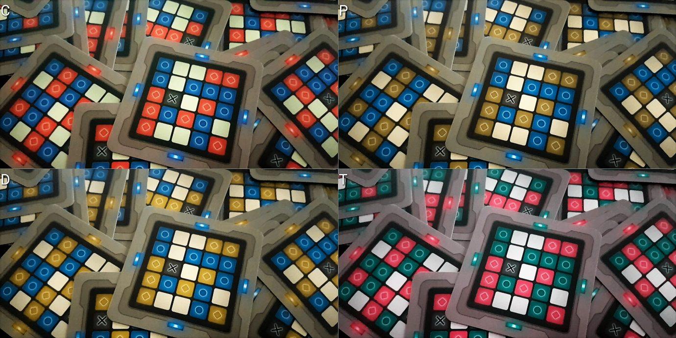 Colour blind grids