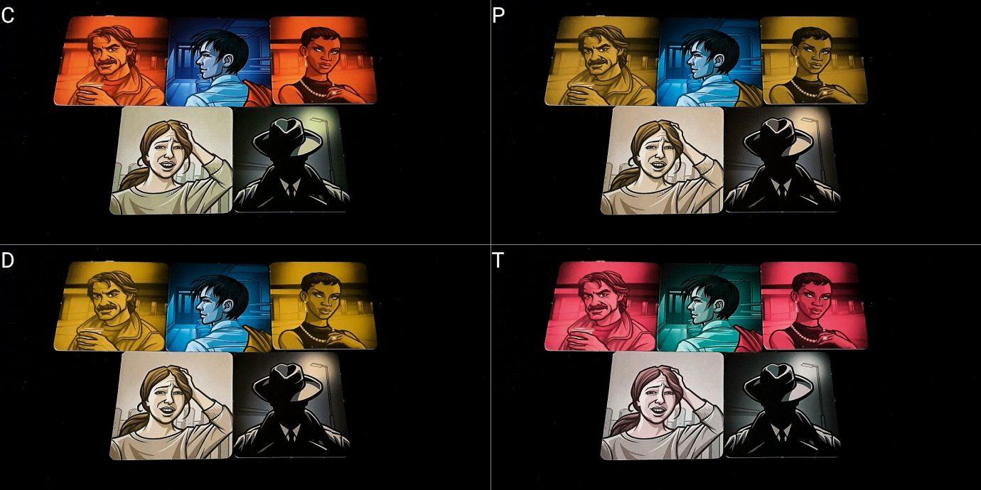 Colour blind agents