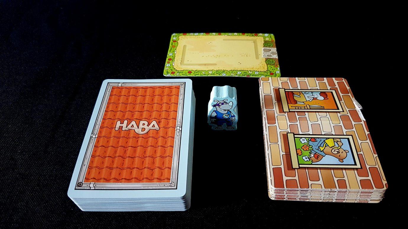 Rhino Hero box contents