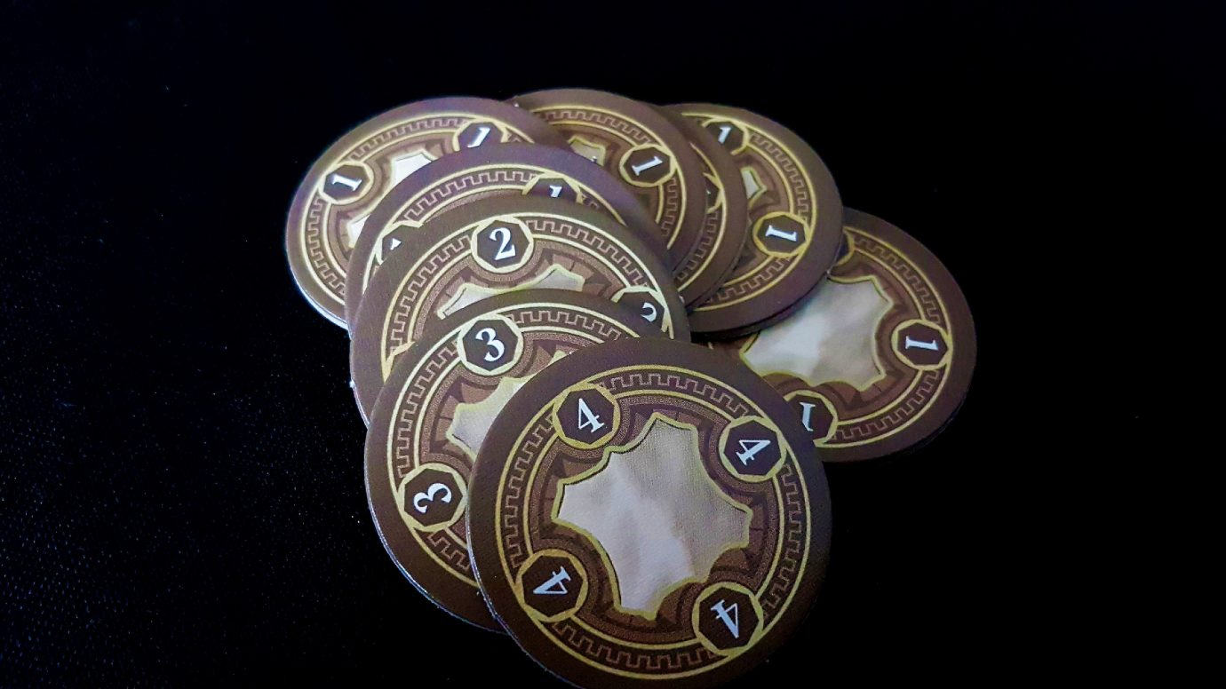 Leather tokens