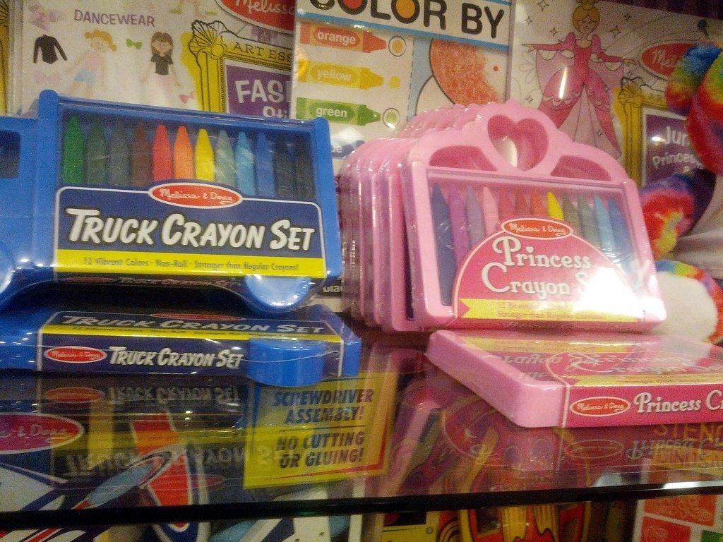 Gendered crayons