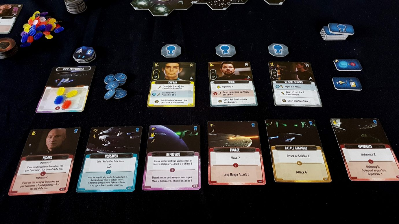 Cards in our ship