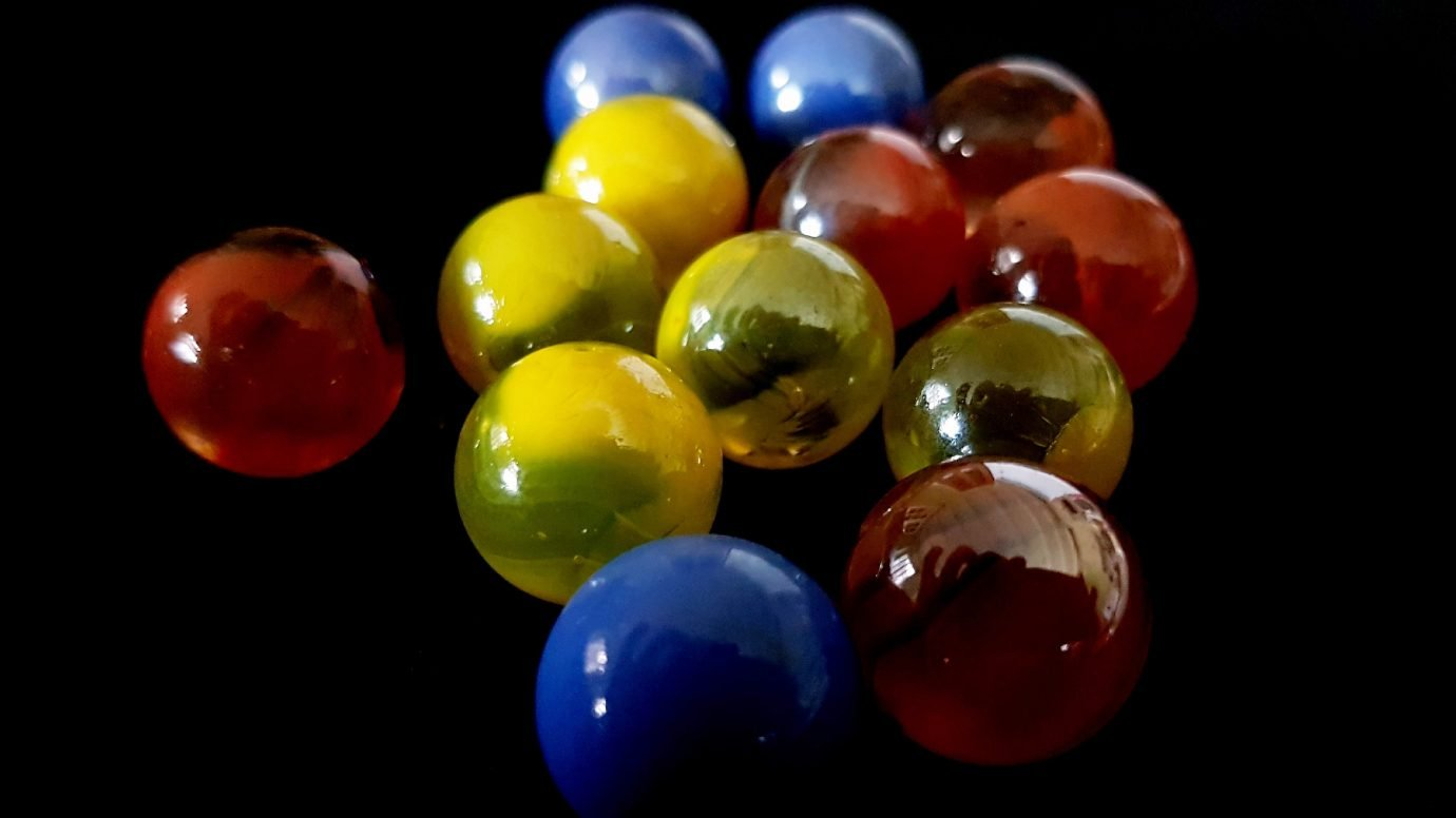 Collected marbles