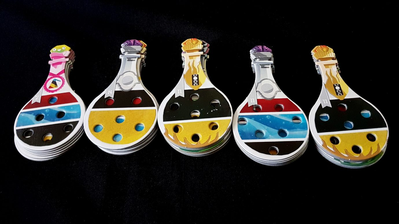 Different potions