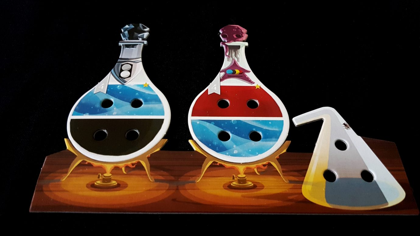 Potions on the burner