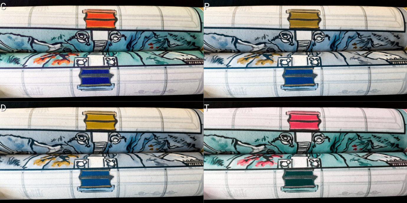 Colour blind mat