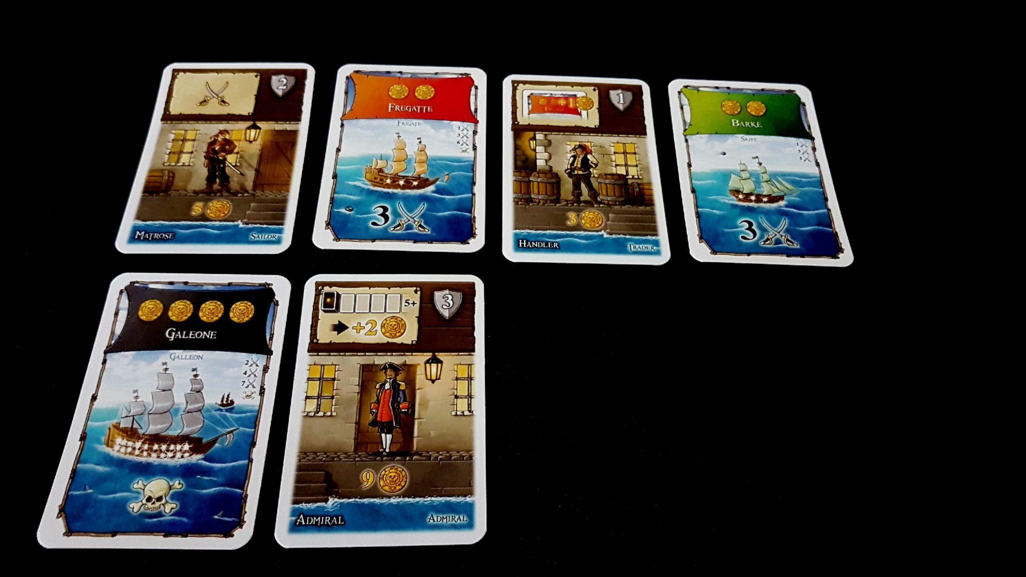 Six cards