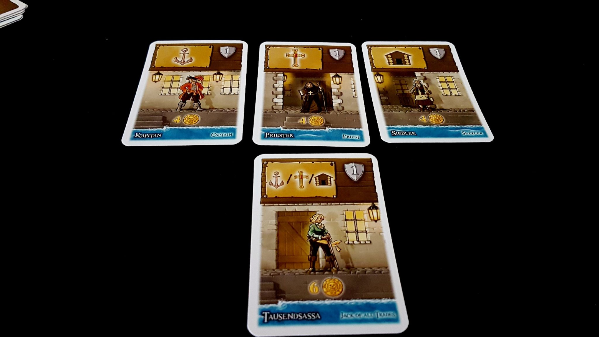 Settlers cards