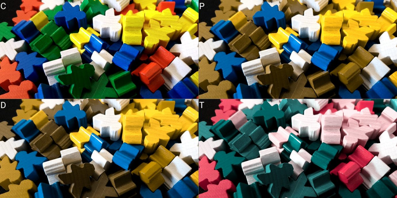 Colour blind meeple