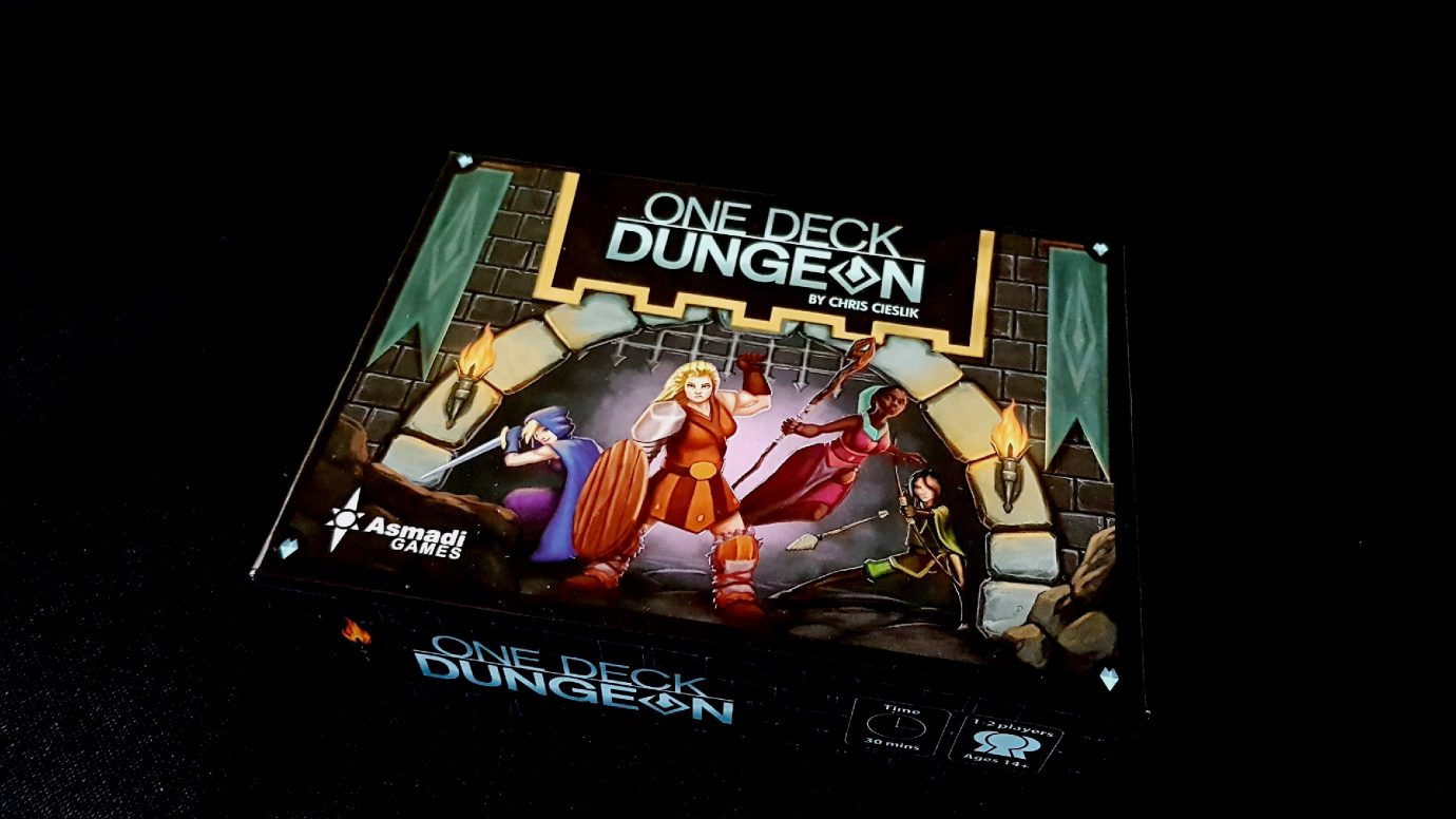 One Deck Dungeon (2016) – Meeple Like Us image