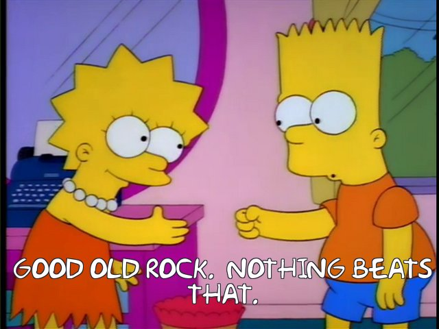 Good old rock