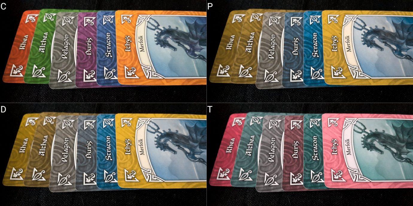 Colour blind cards