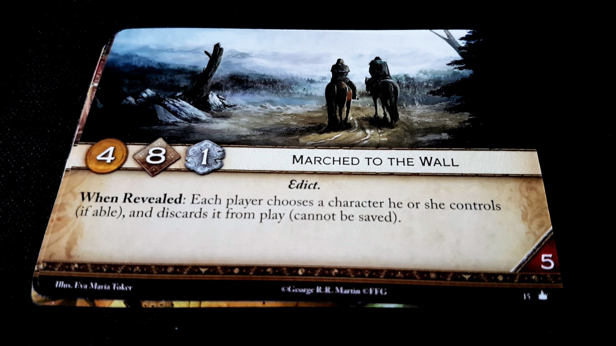 Marched to the Wall