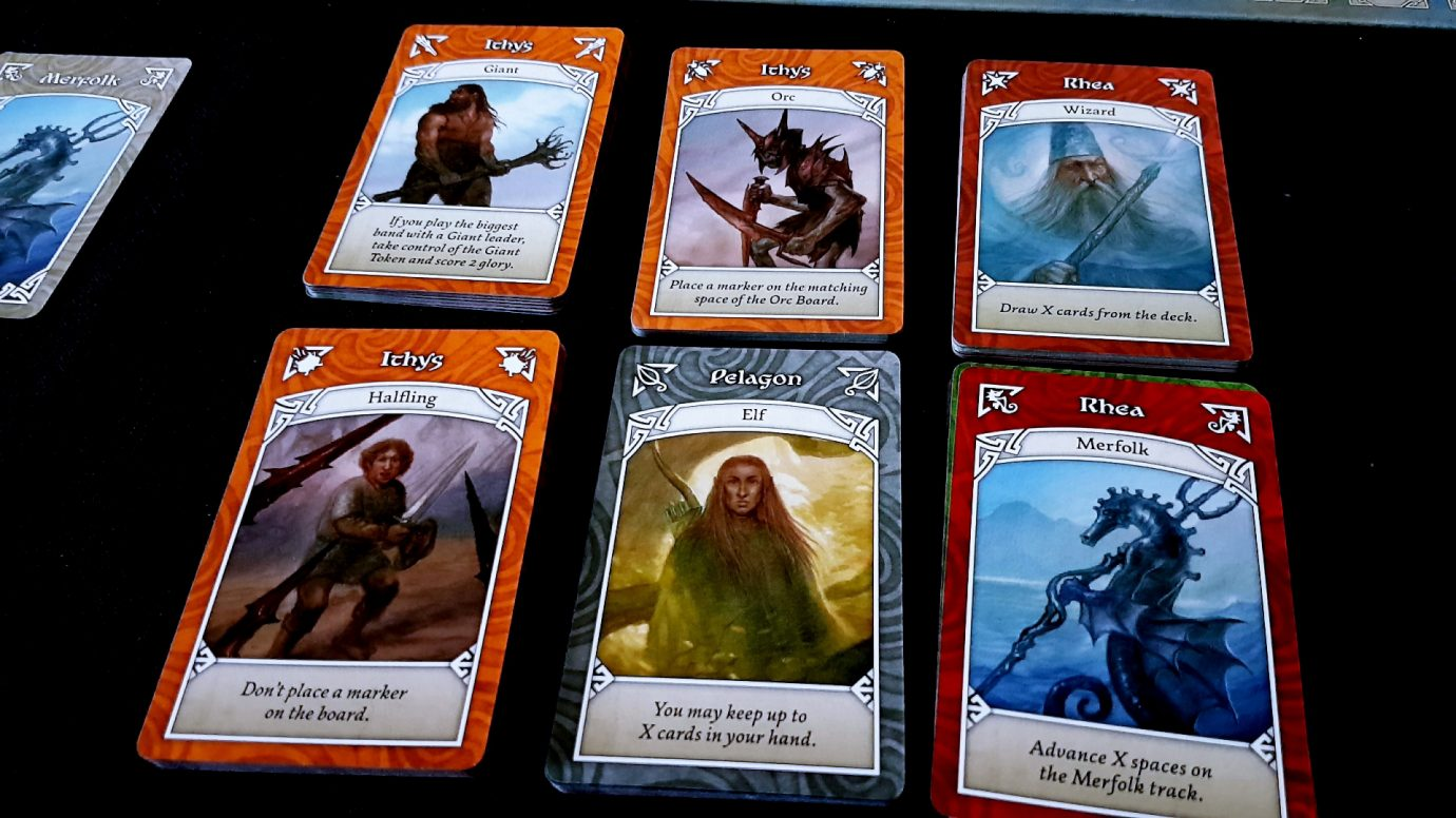 Cards and race powers