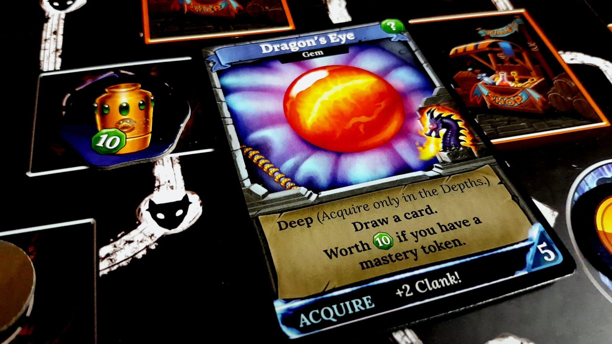 Dragon eye card